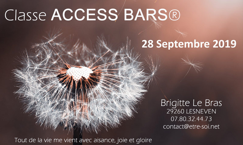 access bars formation finistere septembre 2019